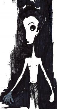 Boy Who Original Sketch By Vincent Salerno