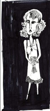 Daisy Maid Original Sketch By Vincent Salerno