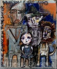 The Wizard of Oz:Family Portrait By Vincent Salerno Sold